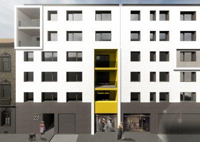 Tolnai Residence, alaprajz, új építésű lakás